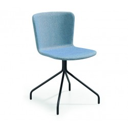 copy of Upholstered chair with sled legs - Calla