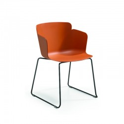 copy of Stackable chair with sled legs - Calla