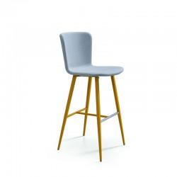Padded stool H. 65/75 cm - Calla