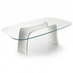 Table with glass/ceramic top - Moonlight
