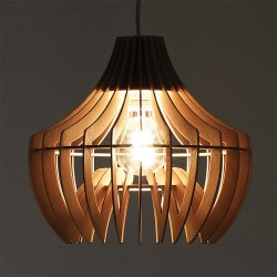 Pendant Lamp in wood - Time