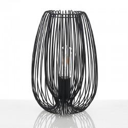 Lampada da Tavolo in metallo nero - Hola