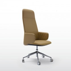Executive armchair with high back - Deep Diamond Executive