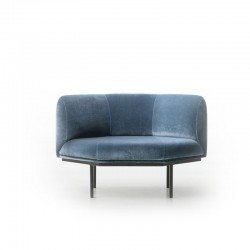 Poltrona lounge imbottita - Hendrick