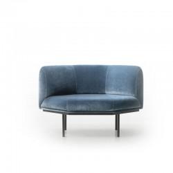 Upholstered lounge chair - Hendrick