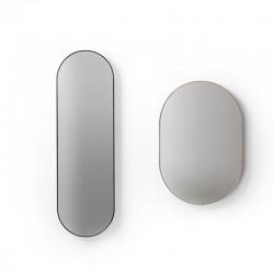 Specchio ovale in due dimensioni - Specchiere