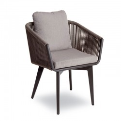 copy of Outdoor armchair with rope cover - Iride