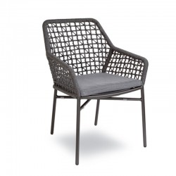 Stackable outdoor armchair - Giselle Net