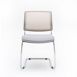 Meeting chair with sled legs - Gaya