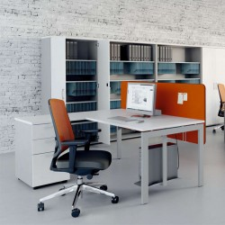 Desk with chest of drawers - Ogi U