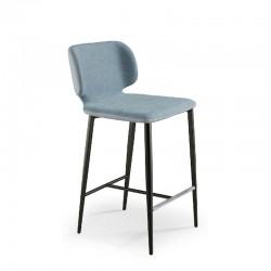 Padded stool H.67/77 cm - Wrap