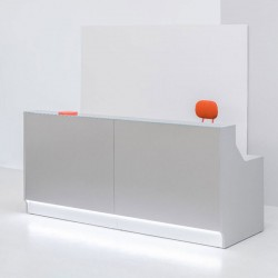Reception counter 165/245 cm - Line