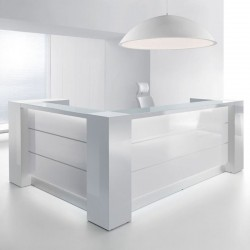 copy of Single/corner reception desk - Valde