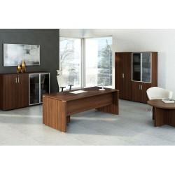 Executive desk with storage cabinet - Quando