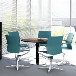 Round meeting table - Mito