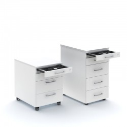 Office chest of drawers with storage compartment - Standard