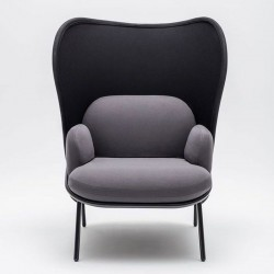 copy of Armchair waiting room medium back - Mesh