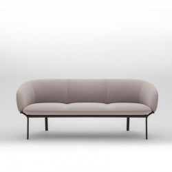 Sofa waiting room 3 seats - Grace