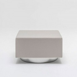 copy of Coloured ottoman with/without wheels - Mix