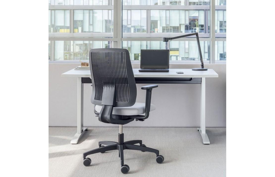 copy of Double operating desk with adjustable worktop - Flow