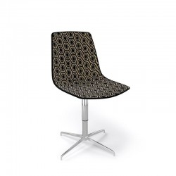 Chair 4 or 5 spur with castors Alhambra 5R