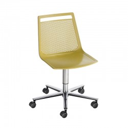 copy of Swivel office chair with base on spokes - Akami