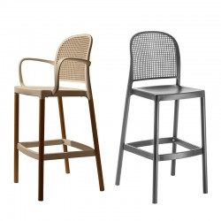 Stool with or without armrests Panama