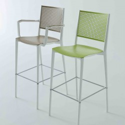 Stool with or without armrests Kalipa