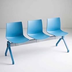 Waiting room bench 2/5 seats - Kanvas