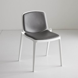 Chair with or without armrests Dress Isidora