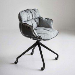 copy of Swivel upholstered chair - Choppy