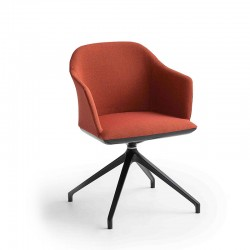 copy of Upholstered office chair with wheels - Manaa