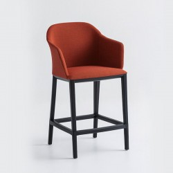 copy of Upholstered chair wooden legs - Manaa