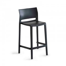 copy of Stackable bar chair with or without armrests - Bakhita