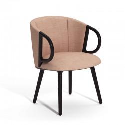 Guest armchair wooden legs - Cucaracha