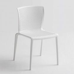 Sedia per bar impilabile con o senza braccioli - Spyker