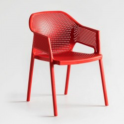 copy of Colorful chair with armrests - More