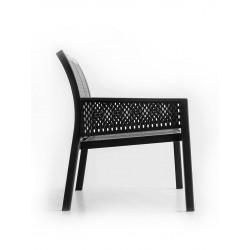 Metal outdoor armchair - Grand Minush