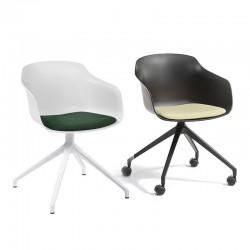 Swivel meeting room chair - Dame