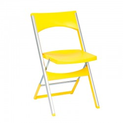 Folding chair for indoor/outdoor use - Compact