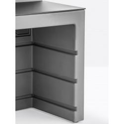 Modular Bar Counter in Polyethylene - Oblique