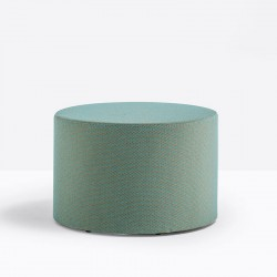 Round Ottoman Pouf for Waiting Room - WOW