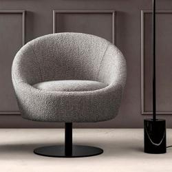 Waiting Room Swivel Armchair - Bubble