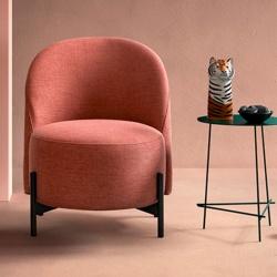 Modern Bedroom Lounge Armchair - Ebe