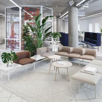 Divani e Sedute Sala Attesa - Arredo Ufficio e Hotel | ISA Project