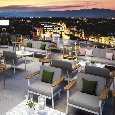 ISA Project: Divani e Poltrone per l'Outdoor di Hotel e Spa